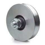 ruota-in-acciaio-zincato-con-gola-v